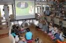 """""""Koci świat"""" – czyli lekcja biblioteczna dla przedszkolaków 21 września 2017 r."""