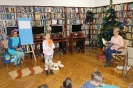 Lekcja biblioteczna dla przedszkolaków 18 grudnia 2018 r.