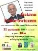 Spotkanie z Jackiem Fedorowiczem - 11.10.2018 r.