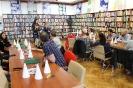 Warsztaty w ramach programu Erasmus+ w międzyzdrojskiej bibliotece - 14.10.2019 r.
